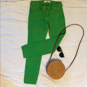 Hollister Green Jeans